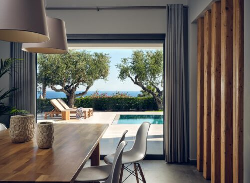 Luxury villa with fully equiped kitchen and direct acces to pool located in Zakynthos island